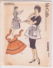 Sample McCalls c.1958 - Aprons - One Size