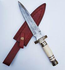 Handgemachtes Damaststahl Messer
