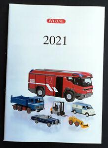 Wiking Katalog 2021, DIN A4, 40 Seiten, mit Prospektösen, Neu!