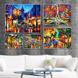 Leonid Afremov Landscape Oil Painting Canvas Wall Art Picture Print Home Decor
