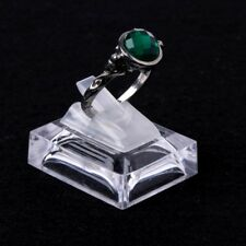 Acrylic Transparent Ring Show Display Showcase Jewelry Decoration Stand Holder