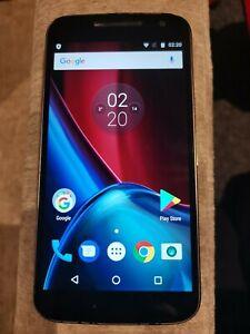 Motorola Moto G4 XT-1622 black Smartphone Android Mobile Phone