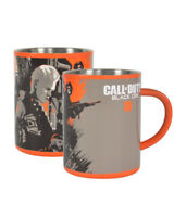Official Call of Duty Black Ops 4 Stainless Steel Mug New & Sealed