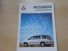 52704) Mitsubishi Space Wagon Prospekt 04/1992