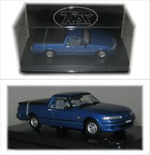 Ford XH Falcon Ute Blue / 1:43 SCALE By Trax - TR79B