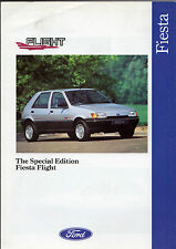 Ford Fiesta Flight 1.3 5-dr Limited Edition 1991 UK Market Sales Brochure