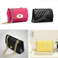 Metal + Leather Shoulder Bag Replacement Chain Strap for Women Handbag Purse kit