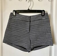 NWOT BCBG Max Azria PIA Striped Shorts Size Small MSRP $138