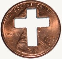 500 Cross Penny's, Pennies for Christian Ministries  + Punch out's 1958 to 2020