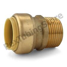 1 Sharkbite Style Push Fit X 1 Mnpt Lead Free Brass Male Threaded Adapter