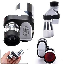 Golf 8 x 20mm Pocket Finger Telescope Mini Compact Spy Monocular Magnification