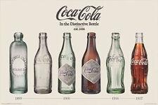 COCA COLA - BOTTLE EVOLUTION POSTER - 24x36 SHRINK WRAPPED - ALWAYS COKE 241095