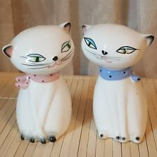 Vintage Holt Howard Cozy Kittens Salt and Pepper One Boy and One Girl