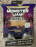 Spin Master Monster Jam World Finals XX 2019 Exclusive Orlando 1/5000 1:64 Truck