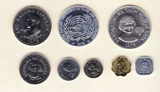 PHILIPPINES. 1979 CENTRAL BANK OF PHILIPPINES set of 8 coins, SILVER UNC/BU