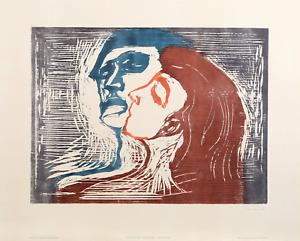Edvard Munch, Head by head, Poster