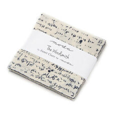 "Moda FABRIC Charm Pack ~ THE WORDSMITH ~ Janet Clare 42 - 5"" squares"