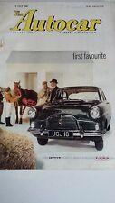 Autocar Magazine 8th July 1960, Test Austin A.40 Countryman, French Grand Prix,