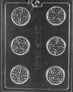 CELTIC COOKIE MOLD molds Chocolate Candy soap favors oreo cookies oreos