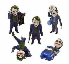 Set 5 The Dark Knight Batman Joker Heath Ledger Mini Toy Figure Doll New in Box