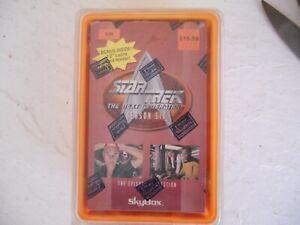 Star Trek Next Generation Season 6  Episode Collection Trading Card Box #876
