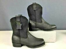 HARLEY DAVIDSON MENS LOWCASTER RIDING BOOTS SIZE 9-1/2 M