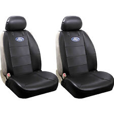 Brand New 2pc Elite Style Car Truck Synthetic Leather Front Seat Covers for Ford