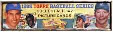Antique Style 1956 Topps Baseball Card Ad Wood Printed Sign AWESOME!! Mantle