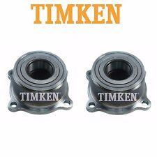 Pair Set of 2 Rear Wheel Bearing Assemblies Timken for Nissan Frontier Xterra