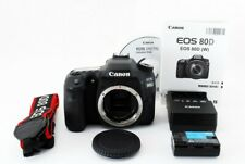 Canon EOS 80D 24.2MP Digital SLR Camera Black Body Near Mint From Tokyo Japan