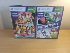 Xbox 360-Kinect Spielepaket-Motionsports Play for Real und Kinect Adventures