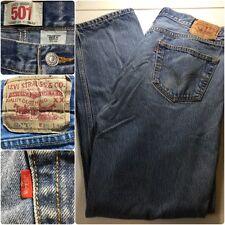 LEVI's 501XX Jeans W38 L36 Blue Denim Vintage 90's Silver Button Fly Mexico~J30