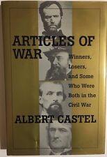 ARTICLES OF WAR The Civil War by Albert Castel (2001) Stackpole HC 1st