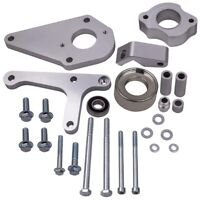 For LS1 Camaro LSX LS6 Truck Low Mount Alternator Power Steering Pump Brackets
