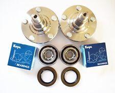 Front Wheel hub W/ OEM KOYO Bearing Set for LEXUS SC300/SC400/SC430/GS400/GS430