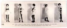GUMMI FETISCH LATEX WÄSCHE RUBBER UNDIES FETISH * Vintage 60s US Promo Photo S2
