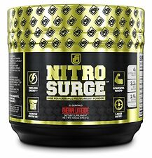 NITROSURGE Pre Workout Supplement | Nitric Oxide Powder Energy Drink | Burn Fat