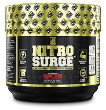 NITROSURGE Pre Workout Supplement | Nitric Oxide Powder Energy Drink | Burn Fat