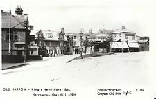 London Postcard - Old Harrow - King's Head Hotel - Harrow-on-The-Hill - Ref U673