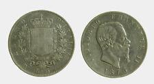 149) Vittorio Emanuele II Re d'Italia (1861-1878) - 5 Lire 1875 ROMA R PICCOLA