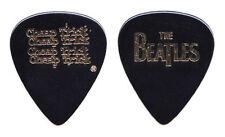 Cheap Trick Tom Petersson Beatles Black Guitar Pick - 2009 Tour