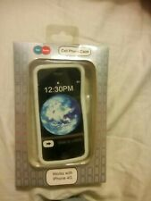 Get Some white silicone Cell Phone Case Works With IPhone 4 G