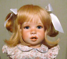 "Susan Krey RARE '86 LE 100 Krey Baby Gentle Children Series Laura 21"" Doll w/Box"