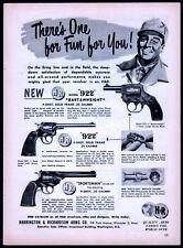 1951 HARRINGTON & RICHARDSON H&R 922 Bantamweight & Sportsman Revolver AD
