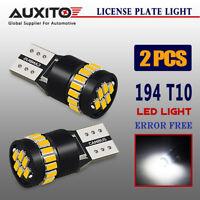 AUXITO 2Pcs Canbus T10 LED Light 3014 24 SMD Error Free 12V Bulbs W5W 168 194