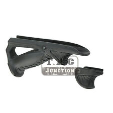 Tactical Ergonomic Forward Hand Stop Angled Foregrip Handle Grip VTS PTK - BK