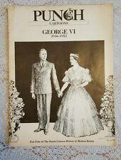 Punch Cartoon History of Modern Britain part four (George VI) 1936-1952