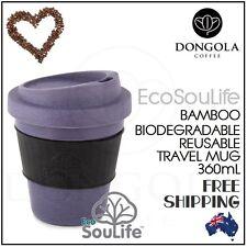 360mL Bio Sip Coffee Tea Travel Cup Mug Biodegradable Reusable Eco Friendly