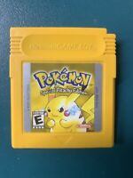 Pokemon Yellow: Special Pikachu Edition (Game Boy, 1999) Authentic SAVES + CLEAN