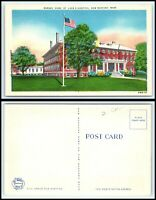 MASSACHUSETTS Postcard - New Bedford, Nurses Home, St. Luke's Hospital O18